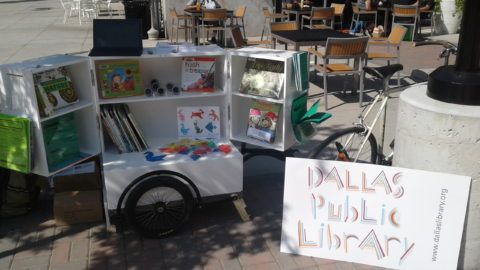 Dallas Public Library is now on wheels