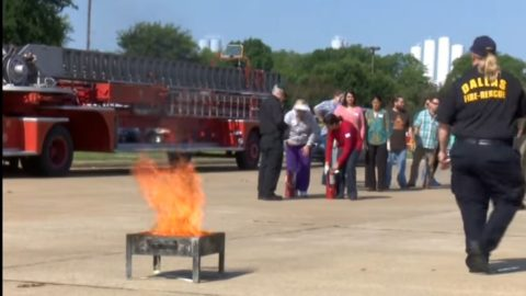 Camp designed for teens to learn how to respond to a disaster