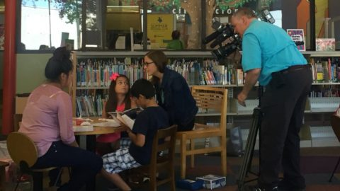 Summer program at the library encourages summer reading