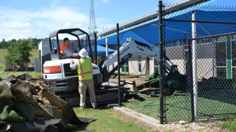 New dog play yards being built at Dallas Animal Services