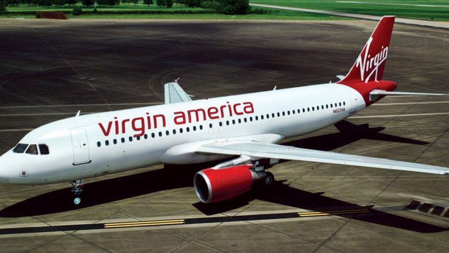 Pull a Virgin America Plane 50 Yards