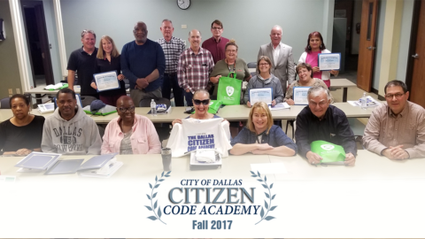 Code Compliance holds first Citizens Code Academy