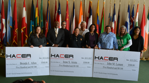 Employees win scholarships from Employee Advisory Committee