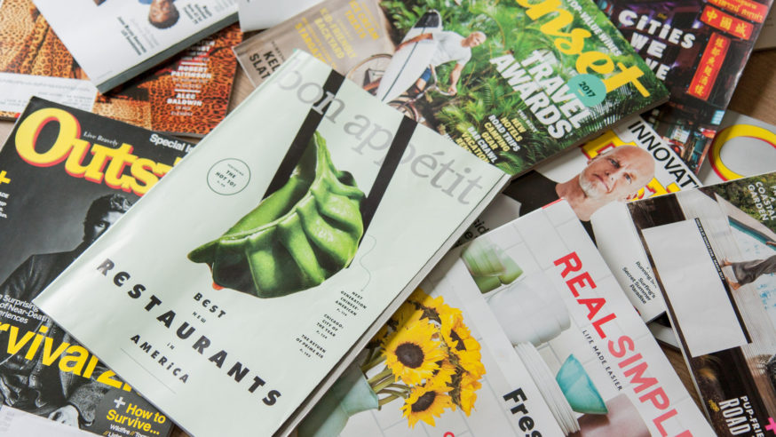 Read magazines free with Dallas Public Library's Flipster App