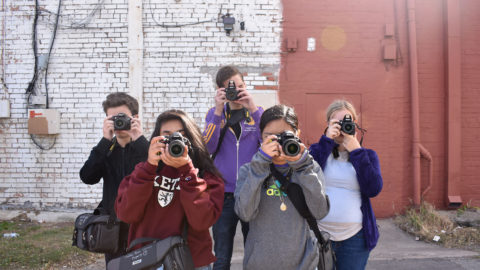 Students invited to apply for Spring photojournalism program