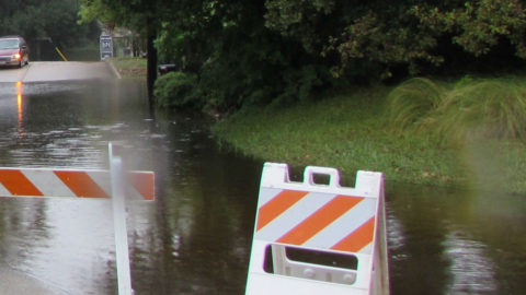 High-water conditions may exist throughout the City