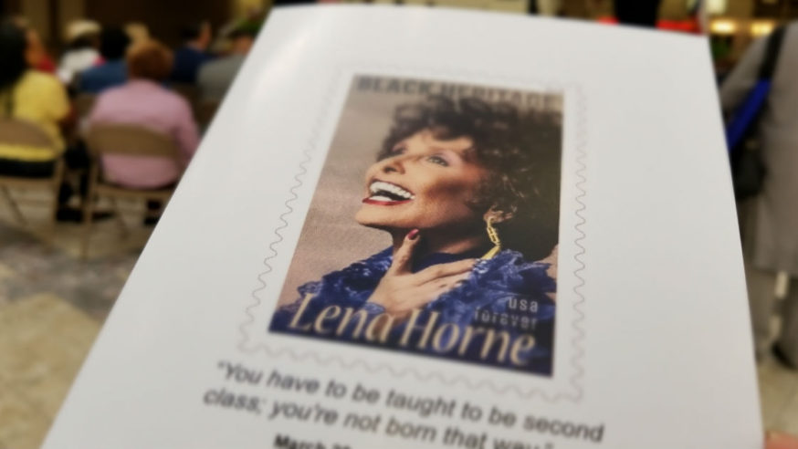 Lena Horne Honored at Red Bird Mall for Women's History Month