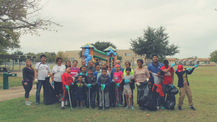 Help keep Dallas clean and green during It's My Park Day