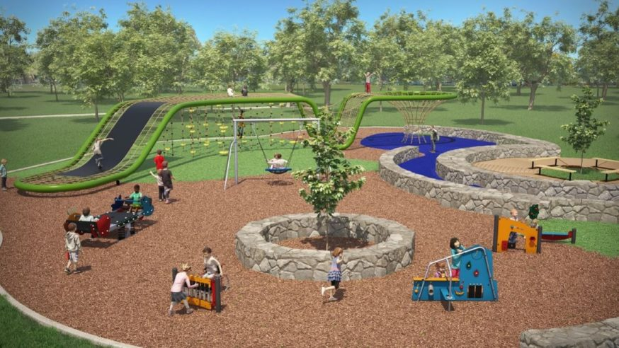 State of the art playground coming to Flag Pole Hill