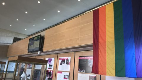 Pride Month exhibit on display at Dallas City Hall