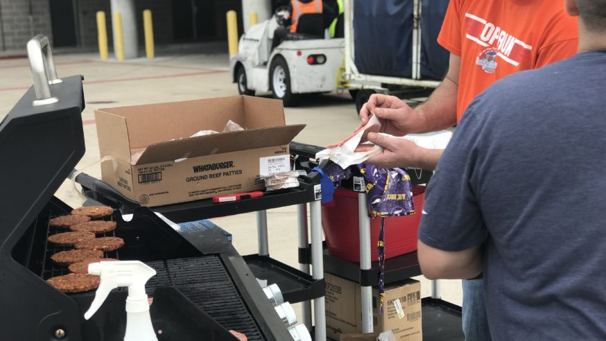 Love Field team lends helping hand to federal employees