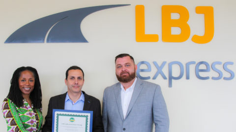 Dallas awards Green Building Certification to LBJ Infrastructure Group