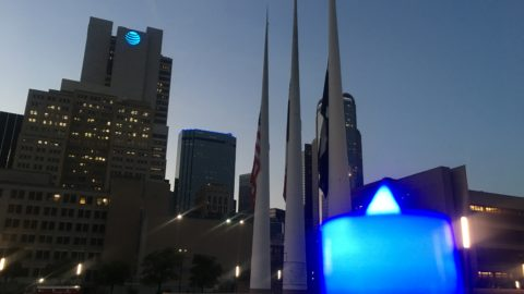 Remembering the fallen – Dallas Police Memorial Day
