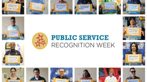 Join us celebrating Public Service Recognition Week May 6-10