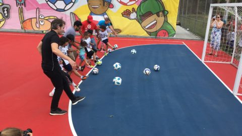 Underutilized City of Dallas tennis courts get new use as soccer play spaces