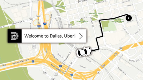 Uber Technologies expanding to Dallas