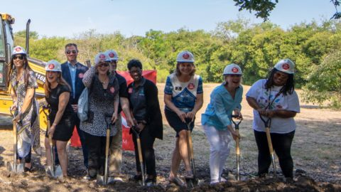 Dallas Public Library breaks ground on new Forest Green Branch Library