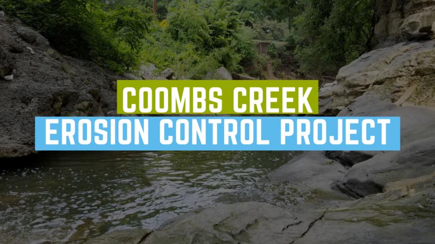 DWU seeks community input on Coombs Creek Erosion Control Project