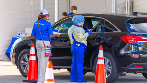 City of Dallas, Dallas County to continue drive-thru COVID-19 testing beyond federal support