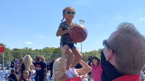 New Dream Court opens in honor of basketball star Andre Emmett
