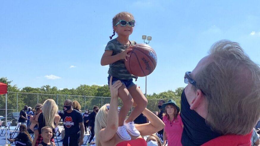 New Dream Court opens in honor of basketball star Andre Emmett