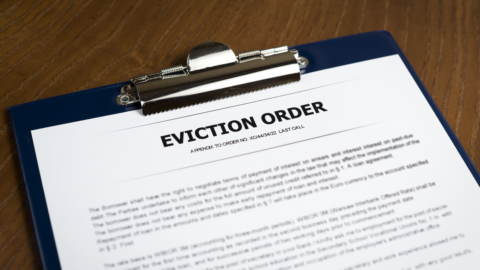 Nationwide temporary halt in residential evictions