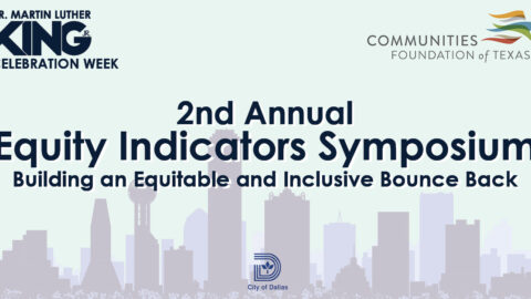 Join City of Dallas in building an equitable and inclusive bounceback