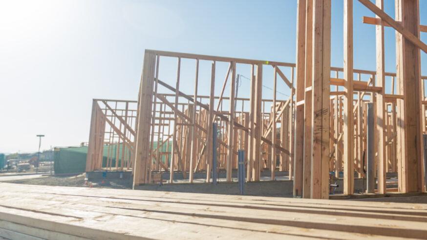 Ground breaks on new homes in Cedar Crest
